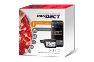 Автосигнализация Pandora Pandect X-3110 с поддержкой телеметрических функций