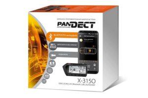 Автосигнализация Pandect X-3150 с поддержкой всех телеметрических функций