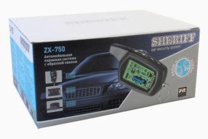 Сигнализация Sheriff ZX-750 с двухсторонней связью