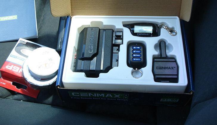 Новая коробка с сигнализацией Cenmax