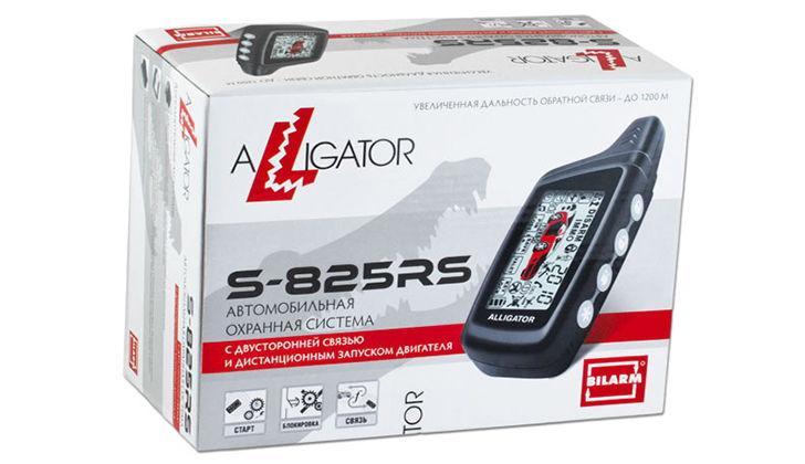 Охранная система Alligator S-825RS