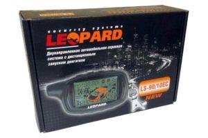 Автомобильная сигнализация Leopard с автозапуском двигателя