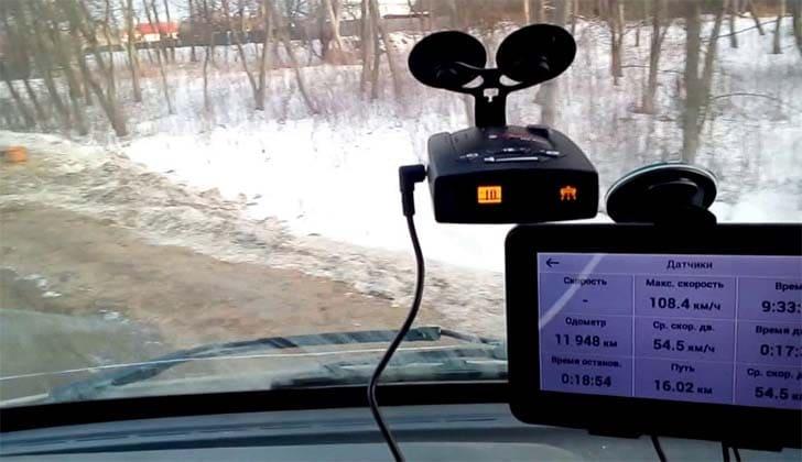 Omni RS-500 в машине