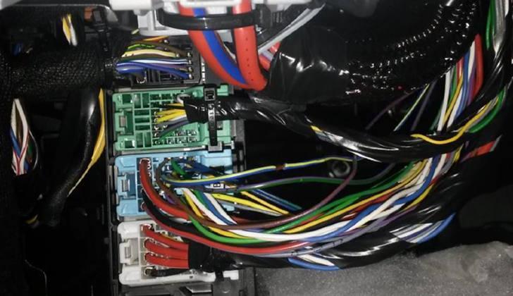 Основной блок с проводами Scher-Khan Magicar 12