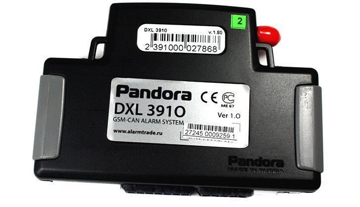 Основной блок сигнализации Pandora DXL 3910 Pro
