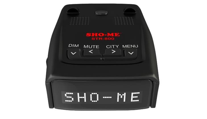 Радар детектор с экраном