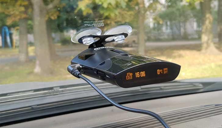 Разновидность радара в машине
