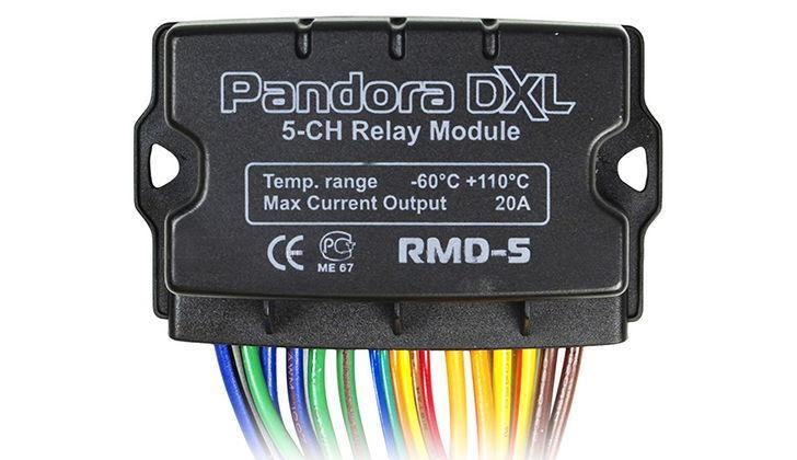 Релейный модуль автозапуска от сигнализации Pandora DXL3700