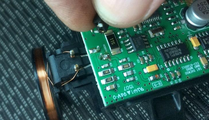 Ремонт чипа иммобилайзера