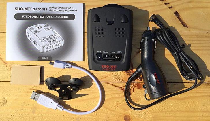 Sho-Me G-800 STR комплект