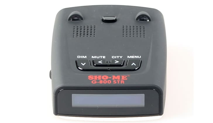 Sho-Me G-800 STR вид спереди