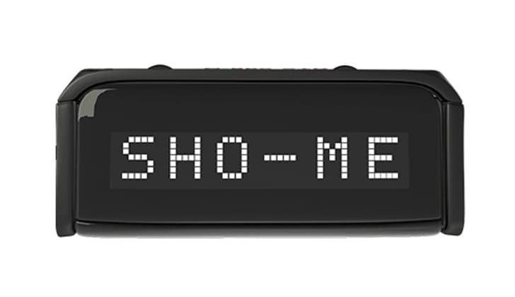Sho-Me G-800STR дисплей