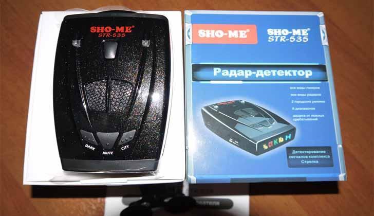 Sho-Me STR-535 в упаковке