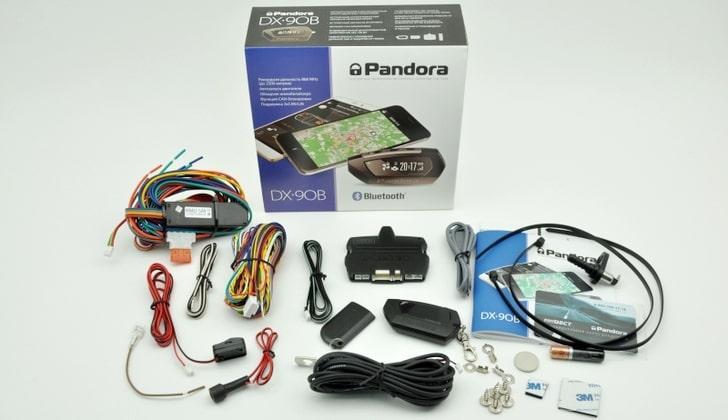 Состав комплекта Pandora