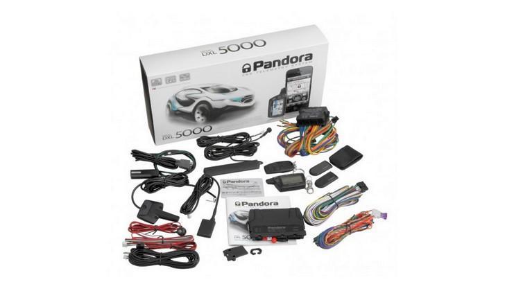 Стандартный комплект Pandora