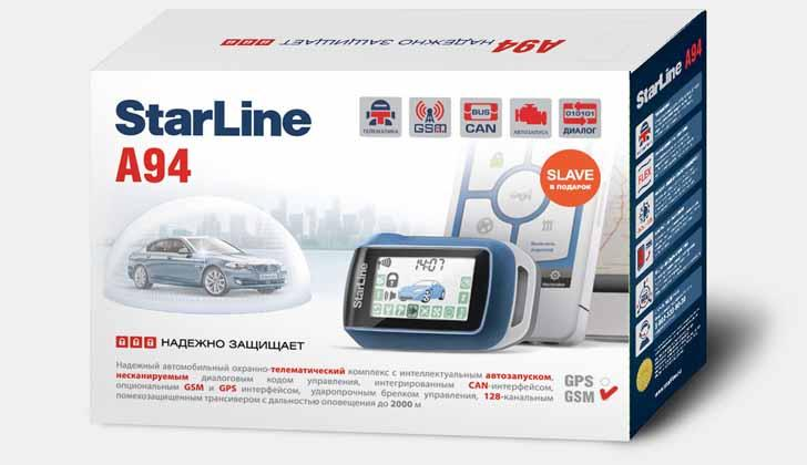 Starline A94 в упаковке