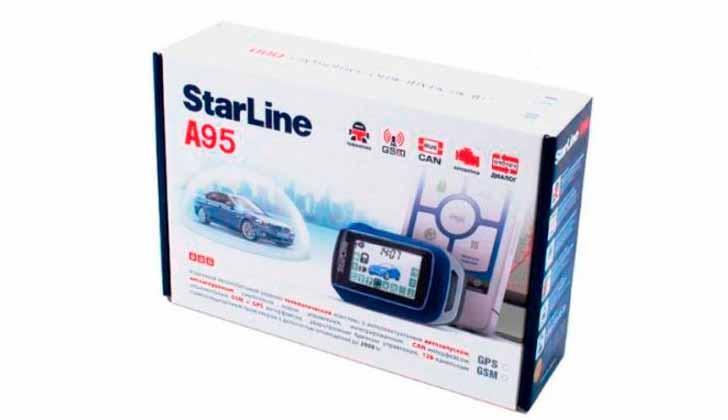 Starline A95 в коробке