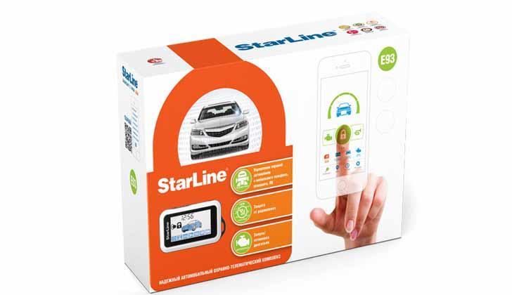 StarLine E93 в коробке