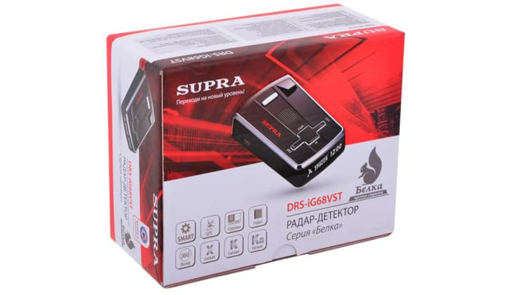 Supra DRS-IG68VST в коробке