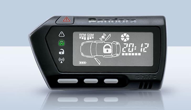 Техника для безопасности авто Pandora