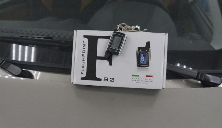 Техника марки Flashpoint S2 на машине