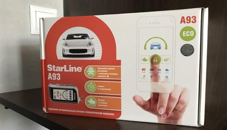 Техника модели StarLine в кробке