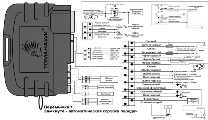 Tomahawk 434 MHz схема