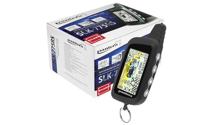 Упаковка и брелок Pantera SLK-775RS