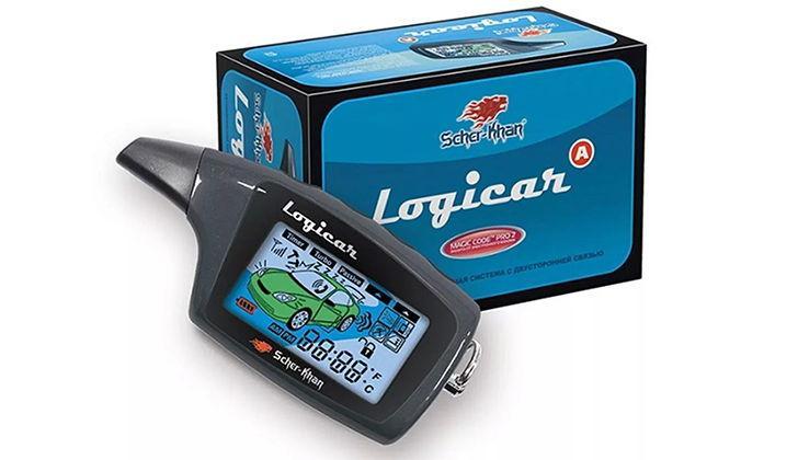 Упаковка и брелок Scher-Khan Logicar
