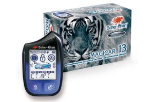 Сигнализация Scher-Khan Magicar 13 с возможностью дистанционного управления машиной