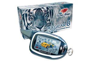 Сигнализация Scher-khan Magicar 8 с автозапуском двигателя авто