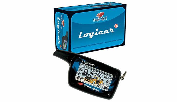 Упаковка и брелок Sher-Khan Logicar 3