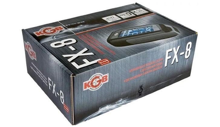 Упаковка KGB FX-8