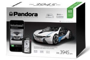 Автосигнализация Pandora DXL 3945 PRO с удобным управлением со смартфона