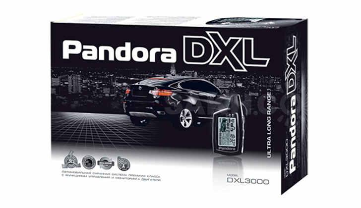Упаковка Pandora DXL3000