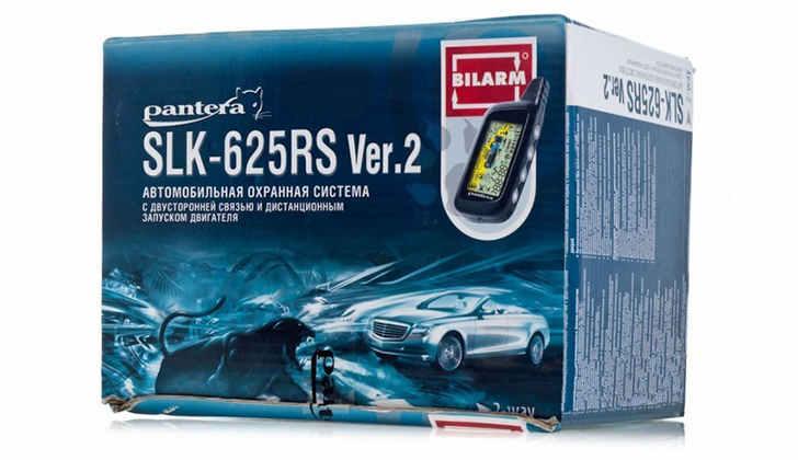 Упаковка Pantera SLK-625RS Ver 2