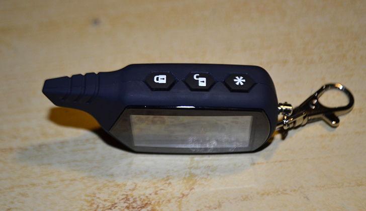 Верхние кнопки брелка StarLine A91