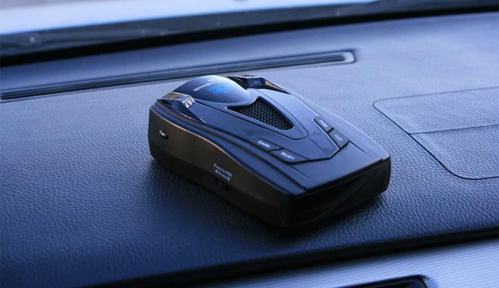 Whistler Pro 68SE в машине