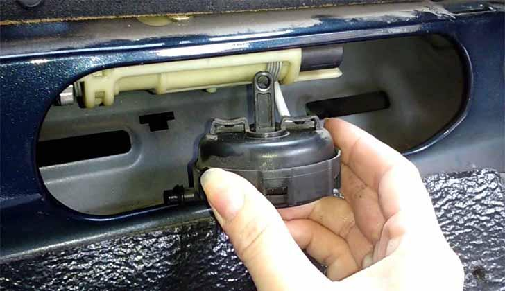 Закрытый багажник
