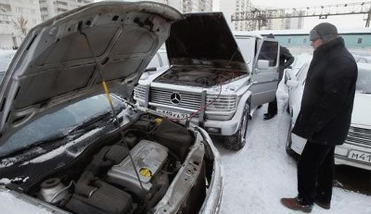 Запуск авто зимой