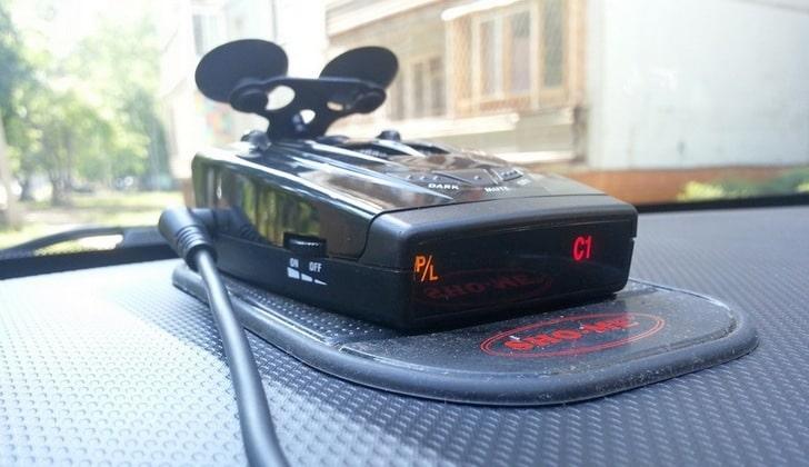Заряженный детектор Sho-Me