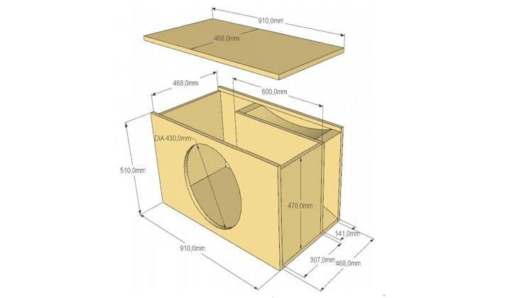 Как правильно рассчитать короб для сабвуфера