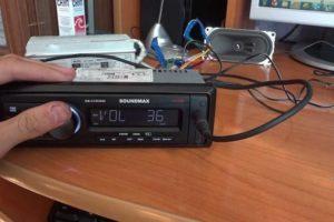 Как правильно подключить дома магнитолу к сети в 220 В или через блок питания от компьютера в 12 Вольт своими руками