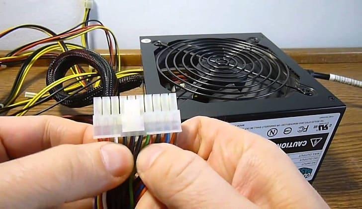 Подключение магнитолы через блок питания от компьютера