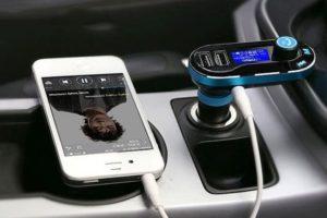 Как подключить ФМ-модулятор к автомагнитоле через прикуриватель для прослушивания музыки