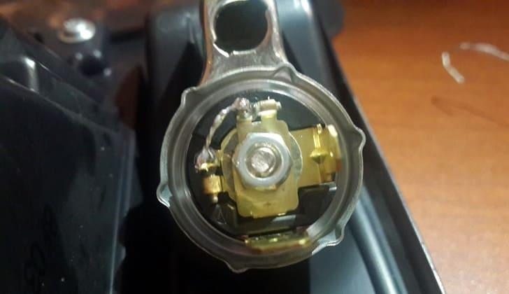 Ремонт головки прикуривателя автомобиля