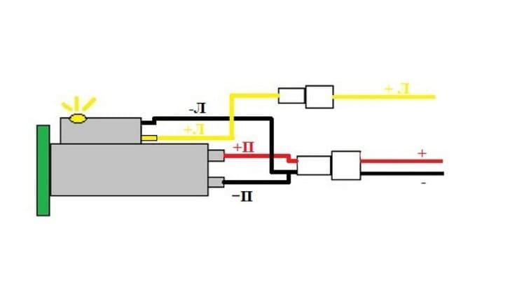 Схема подключения прикуривателя в машину ВАЗ 2107