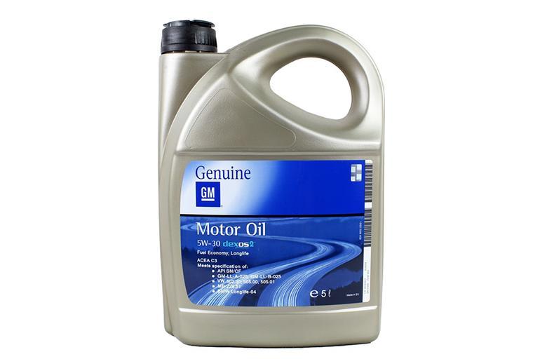 General Motors Dexos2 Longlife 5W30