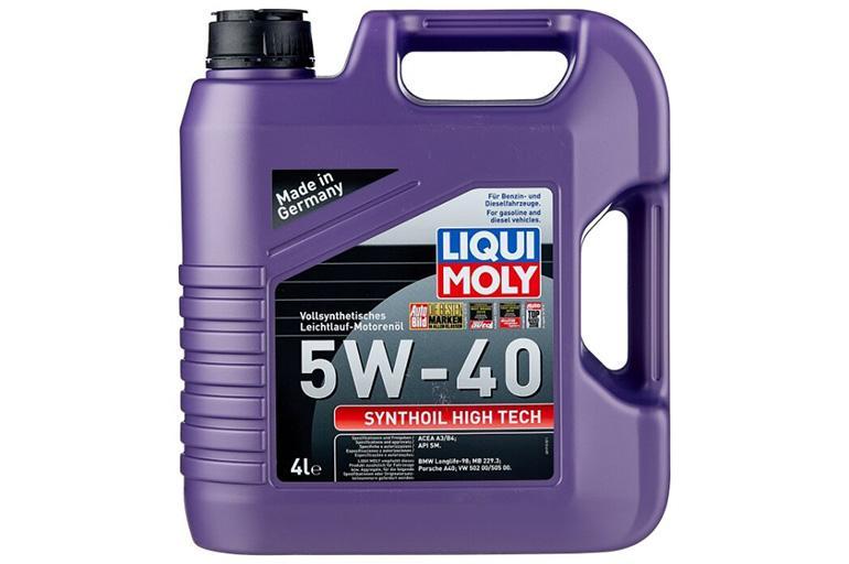 Liqui Moly 5w40 Synthoil High tech