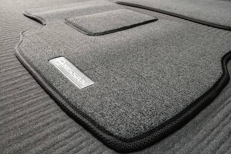 Ворсовые автомобильные коврики